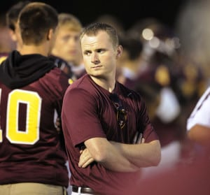 Monty Howell   Herald-Times A familiar mystery on the sidelines at North, Michael Koryta.